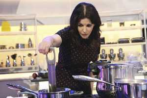 The pressure is on when Anthony Bourdain, Nigella Lawson, Ludovic Lefebvre and Brian Malarkey put 29 professional chefs and home cooks through their first grueling round of blind taste tests -- in which just a single spoonful will decide whether or not they make it past the audition phase and into the competition. | ABC/Sasha Shemirani