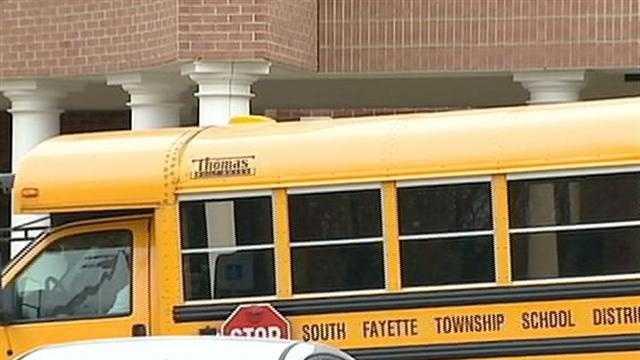South Fayette school bus