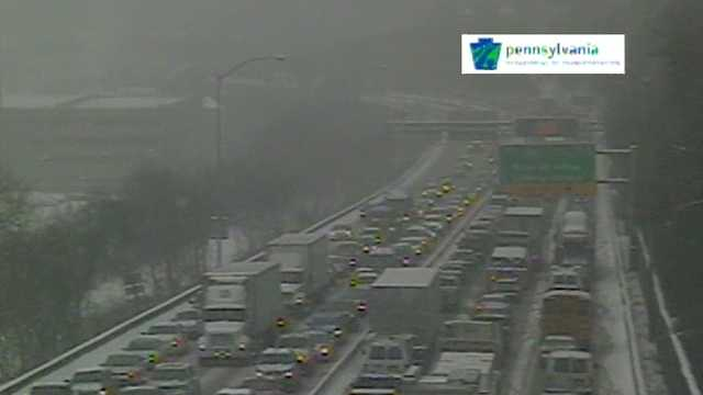 Parkway East snow
