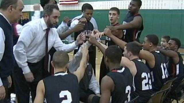 New Castle Red Hurricane basketball team