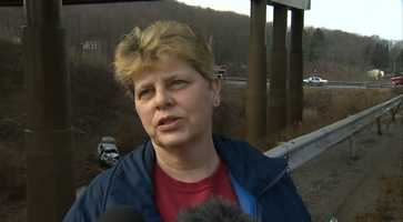 """Kathy Musgrov, who lives nearby, said she was watching television around 2:30 a.m. when she heard a loud """"boom."""""""