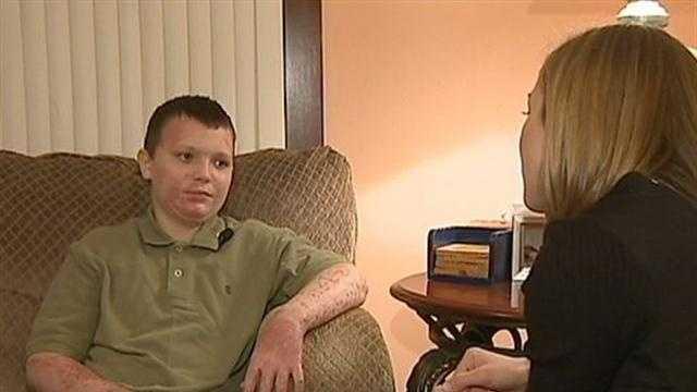 Boy returns home after Coraopolis explosion