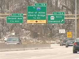 State police say the shooting happened near theSecond Avenue exit.