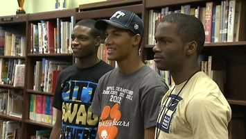 The 'Killer T's' of Tyler Boyd, Terrish Webb and Titus Howard say the opportunity to keep playing football together in college was a key factor in their decision to commit to Pitt.