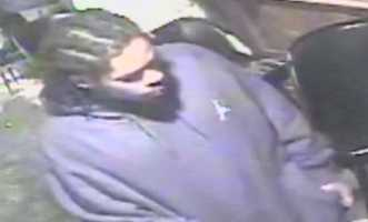 Pittsburgh police want to identify this man and ask him about a shooting that injured a woman on Hamilton Avenue.