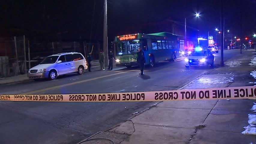 Man hit by van
