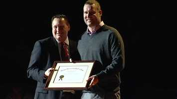 Ben Roethlisberger was inducted into the Miami University Athletics Hall of Fame Class of 2012-13. (Watch the video)