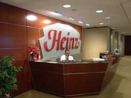 Kraft Heinz has one of its corporate headquarters in Pittsburgh.