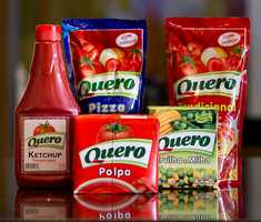 In Brazil, ketchup is sold under the Quero brand name.