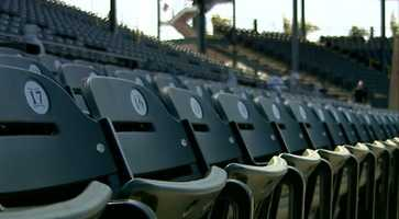 The stadium added 2,000 more seats, increasing its capacity to 8,500.