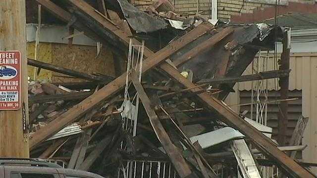 demolished house in Homewood