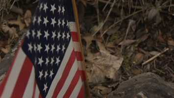 """""""If I'm walking around the neighborhood and I see people's flags are worn and torn and faded, I'll drop a flag off for them,"""" Flohr said."""