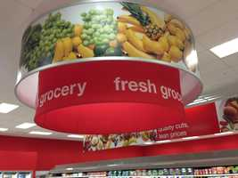 This is the PFresh grocery section, one of only two in the Pittsburgh region.