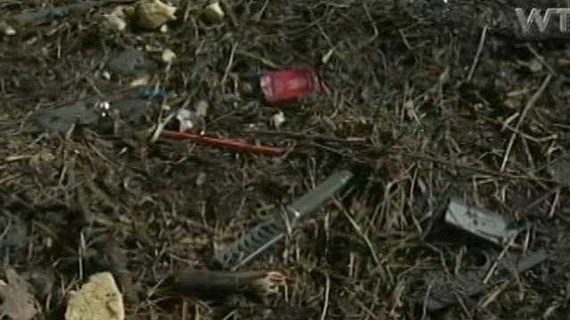 East Mahoning crash debris