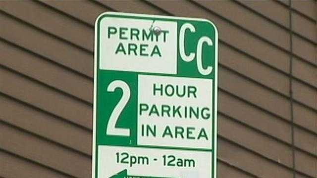 parking sign on South Side