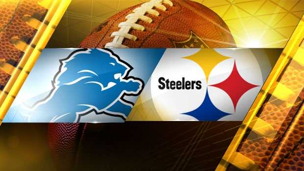 Lions at Steelers