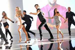 "MUSIC VIDEO WITH PITBULL: Dancing with the Stars"" and ""Dancing with the Stars: the Results Show"" return this season with new surprises and all the performance elements viewers have come to know and love. The celebrities perform choreographed dance routines which will be judged by renowned Ballroom judge Len Goodman and dancer/choreographers Bruno Tonioli and Carrie Ann Inaba. (Photo: ABC/Adam Taylor)"