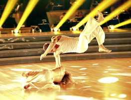 """Ingo Rademacher & Kym Johnson - """"Dancing with the Stars"""" was back with an all-new cast of fresh faces hitting the dance floor. The competition began with the two-hour Season 16 premiere, live on Monday, March 18th. (ABC/Adam Taylor)"""