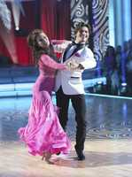 """Lisa Vanderpump & Gleb Savchenko - """"Dancing with the Stars"""" was back with an all-new cast of fresh faces hitting the dance floor. The competition began with the two-hour Season 16 premiere, live on Monday, March 18th. (ABC/Adam Taylor)"""