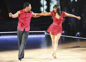 """DL Hughley & Cheryl Burke - """"Dancing with the Stars"""" was back with an all-new cast of fresh faces hitting the dance floor. The competition began with the two-hour Season 16 premiere, live on Monday, March 18th. (ABC/Adam Taylor)"""