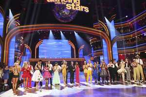 "WEEK 2 - The competition heats up on ""Dancing with the Stars"" as the celebrities take on new dance routines and fight for survival. The couples performed a Jive, Quickstep or Jazz routine. (Photo: ABC/Adam Taylor)"