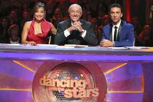 "The Judges - The competition heats up on ""Dancing with the Stars"" as the celebrities take on new dance routines and fight for survival. The couples performed a Jive, Quickstep or Jazz routine. (Photo: ABC/Adam Taylor)"