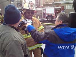 Pittsburgh Fire Chief Darryl Jones
