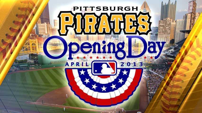 Pirates Opening Day 2013