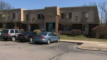 The shooting happened at the Cambridge Square apartment complex in Monroeville.
