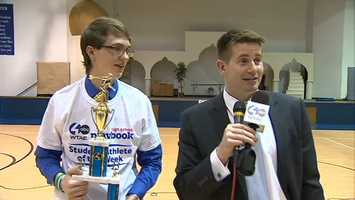 Wilson Christian Academy's Brendan Schink and Action Sports' John Meyer