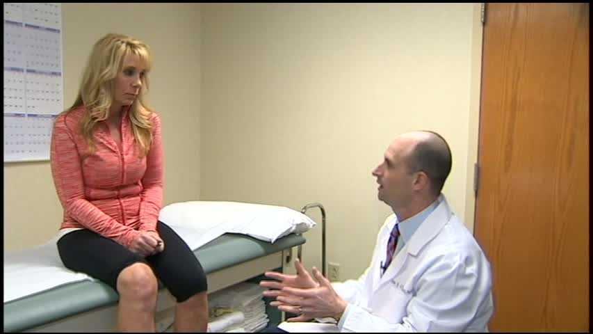 Lori Elias and doctor