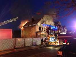 A woman died in a house fire early Tuesday morning on Ardmore Street in Swissvale.