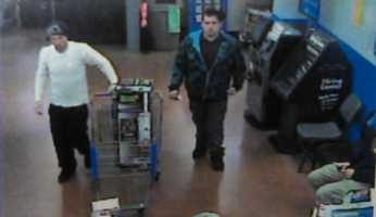 State police say they're investigating cases involving three to four people who passed stolen checks for $600 at Walmarts in Connellsville and Uniontown. Anyone who can help identify the people in these surveillance photos is asked to call Fayette County Crime Stoppers at (888) 404-TIPS or email crimestoppersfayette@gmail.com.