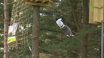 The new Go Ape! Treetop Adventure is open in North Park