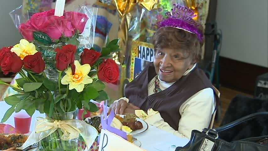 Lillian Allen's 104th birthday