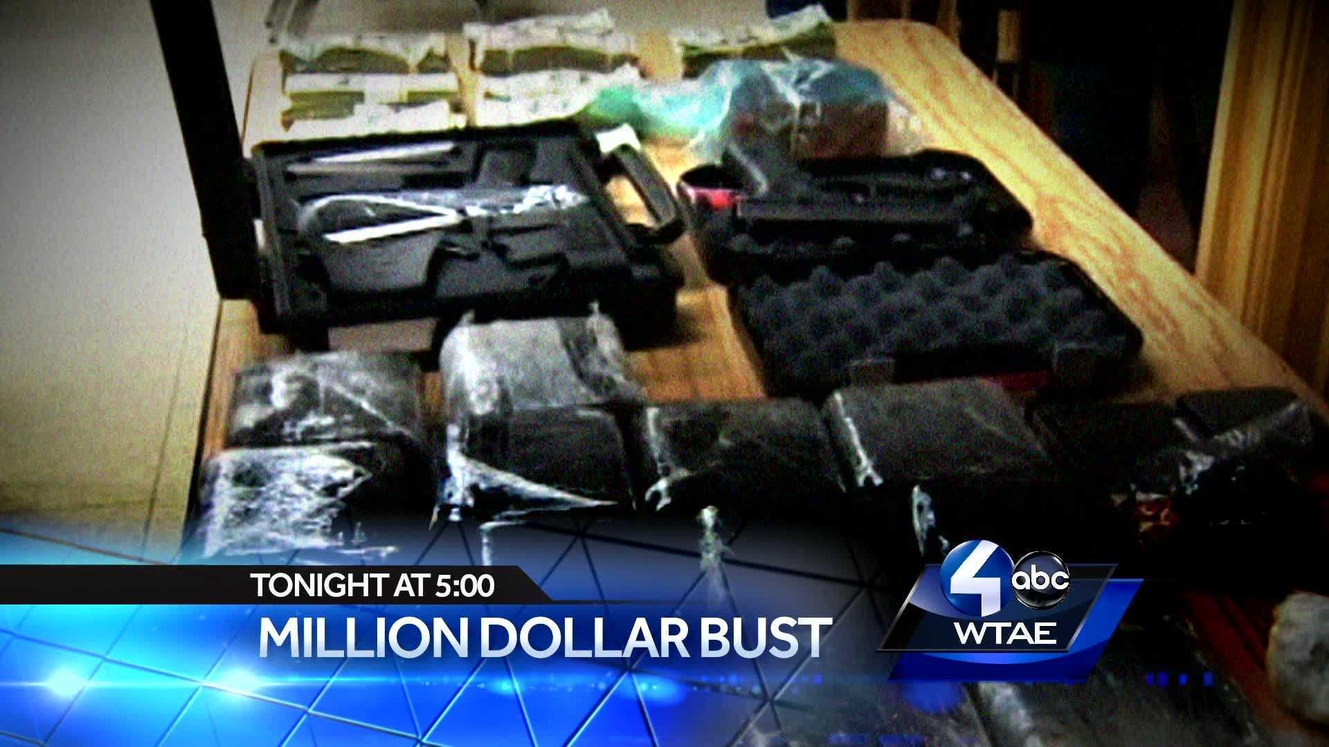 Multi-Million Dollar Cocaine Bust in the Suburbs.