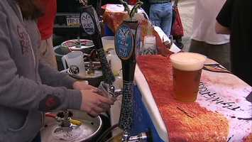 Matt Hough, of Hough's Taproom and Brewpub, organized the event to challenge the current world record of 267 participants in the Netherlands as part of Pittsburgh Craft Beer Week.