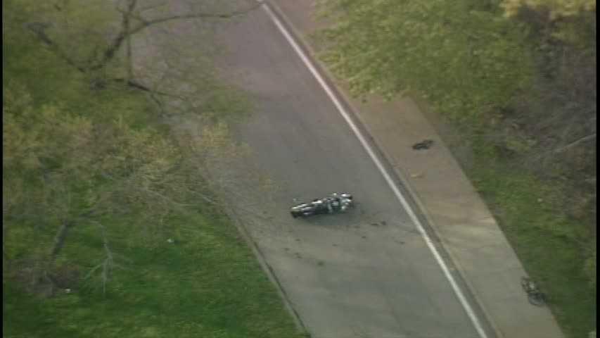 Schenley Park motorcycle crash