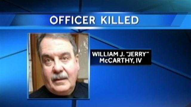 Officer Jerry McCarthy
