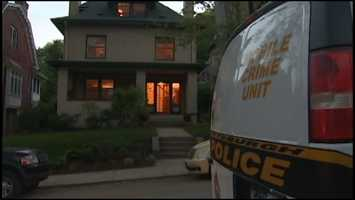 Pittsburgh police searched Dr. Autumn Klein's house on Lytton Avenue after her death.