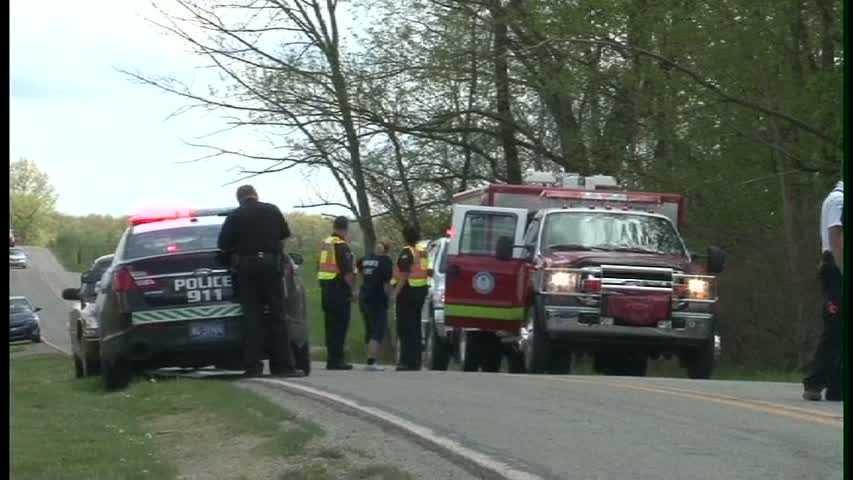Hickory Twp motorcycle crash 1