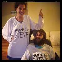 But the hardships extend beyond Steve's health. He had to leave work immediately when he was diagnosed and it took about a year for his disability to kick in while the couple survived off Hope's income.