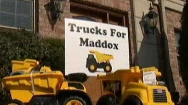 Trucks for Maddox