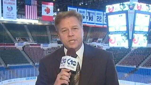 Guy Junker reports from Nassau Coliseum
