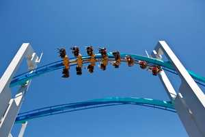 The winged roller coaster called GateKeeper.