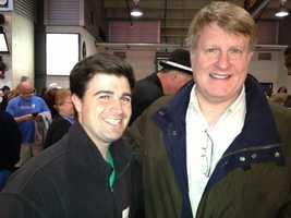 Pittsburgh City Councilman Corey O'Connor and Allegheny County Chief Executive Rich Fitzgerald