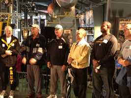 Andy Russell and Rocky Bleier were among the former Steelers who participated.