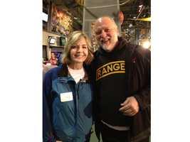 Sally Wiggin and Craig Wolfley