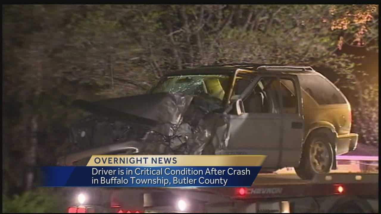 Three Injuried in Buffalo Township Crash