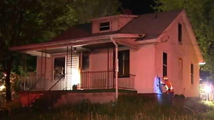 Evans City house fire